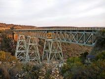 Gouritz poręcza most Zdjęcia Royalty Free