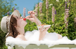 The gourmand Royalty Free Stock Photography