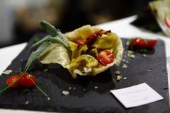 GourmArte - έκθεση του Μπέργκαμο, Ιταλία 2017 Στοκ φωτογραφίες με δικαίωμα ελεύθερης χρήσης