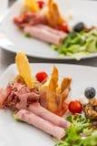 Gourmet appetizer dish Stock Photos