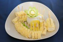 gourmet appetizers Stock Photos