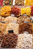 Gourmet assorted truffles in the market Royalty Free Stock Photo