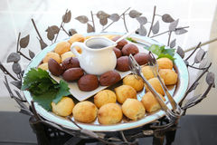 gourmet bakar ihop sötsaker Royaltyfria Bilder