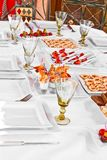 GOURMET BANQUET Stock Photography