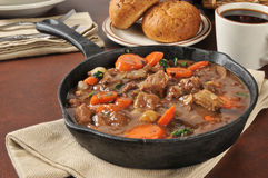 Gourmet beef stew Royalty Free Stock Photo