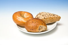 Gourmet bread rolls Royalty Free Stock Images