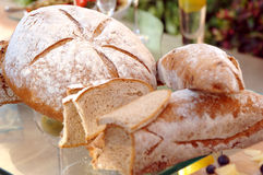 Gourmet Breads Royalty Free Stock Photography