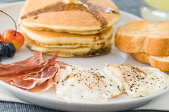 Gourmet Breakfast Royalty Free Stock Photo