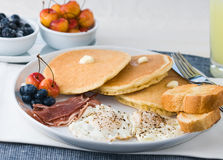 Gourmet Breakfast Stock Image