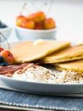 Gourmet Breakfast Stock Photo