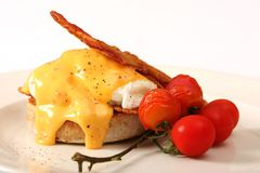 Gourmet Breakfast Meal royalty free stock image