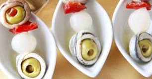 Gourmet- brochette Royaltyfria Bilder