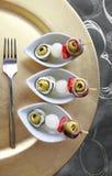 Gourmet- brochette Royaltyfri Foto