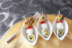 Gourmet brochette Stock Image