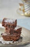 Gourmet brownies Royalty Free Stock Photos