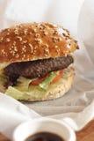 Gourmet burger Stock Photo