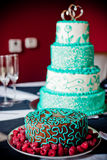 Gourmet Cakes royalty free stock images