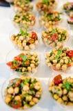 Gourmet catering food Stock Image