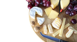Gourmet cheese board Stock Image