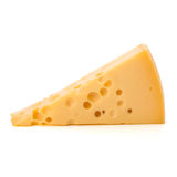 Gourmet cheese piece Stock Image
