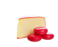 Gourmet Cheeses Stock Photo