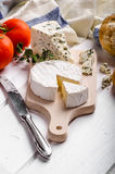 Gourmet cheeses Royalty Free Stock Photography