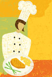 Gourmet Chef Royalty Free Stock Photos