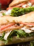 Gourmet chicken sandwich Royalty Free Stock Image