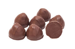 Gourmet chocolate bonbons Stock Images