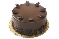 Gourmet Chocolate Cake royalty free stock images