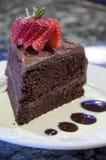 Gourmet chocolate cake Stock Photo