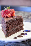Gourmet chocolate cake Stock Photo