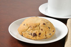 Gourmet chocolate chip cookie Royalty Free Stock Photography