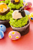 Easter cupcakes Royalty Free Stock Photos