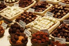 Gourmet chocolates Royalty Free Stock Image