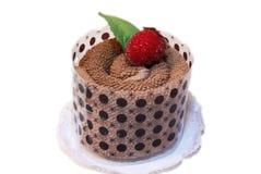 Gourmet- chokladefterrätt Arkivfoto