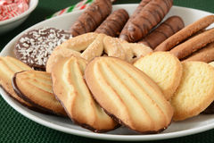 Gourmet Christmas cookies Royalty Free Stock Photo
