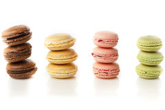 Gourmet Colored Macaroon Cookies Stock Photography