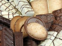 Gourmet Cookies Royalty Free Stock Images