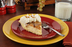 Gourmet cream pie Stock Photography
