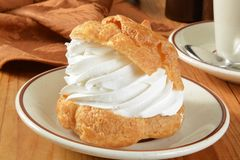 Gourmet cream puff Royalty Free Stock Image