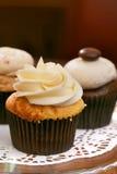Gourmet cupcakes Royalty Free Stock Photos