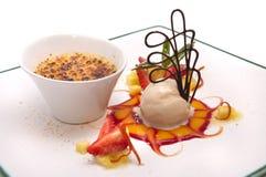 Gourmet dessert Royalty Free Stock Photo