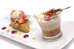 Gourmet dessert Royalty Free Stock Photos