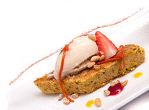 Gourmet dessert Royalty Free Stock Images