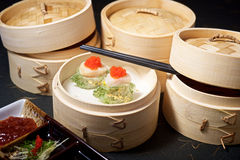 Gourmet Dimsum Set Royalty Free Stock Photography