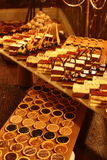 The gourmet dinner chocolate Stock Image