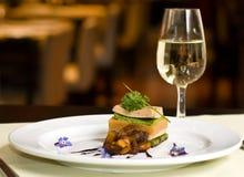 Gourmet dish. Royalty Free Stock Photo