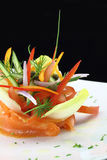 Gourmet dish Royalty Free Stock Photo