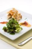 Gourmet dish. Royalty Free Stock Photos